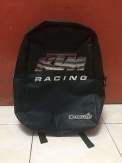 Beg ktm redblack water proof