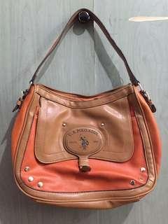 US Polo Orange bag (Authentic)