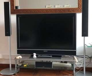 Home entertainment- Sony TV + Complete Digital HiFi set