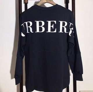 💓💯Authentic BURBERRY OVERSIZED SWEATSHIRT🛍