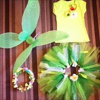 Green Tutu Fairy Costume