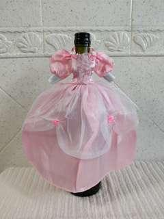 Wine bottle cloth / Doll clothes