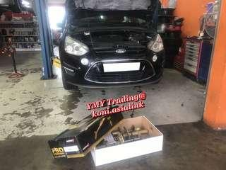 Ford SMAX 2.0 Ecoboosts in the house to upgrade Koni fsd dampers with self adjustable damping feature absorber with original spring setup for optimise street driving ride .Without compromise comfort level and handling improvement ..