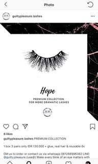 Guilty Pleasure (HOPE) - Fake Eyelash