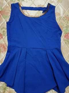 Royal Blue Top - M