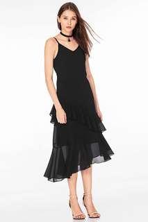 TCL Kailynn Ruffled Maxi Dress
