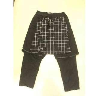 台灣品牌 Slightly Numb 格紋褲