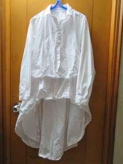 白色型格斯文裙