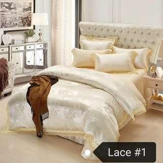 🚚 Bedsheets / 4 pieces set / free delivery / wedding / gift