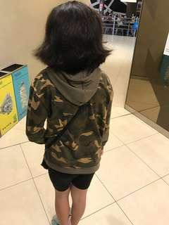 🚚 Camouflage hoodie sweat top