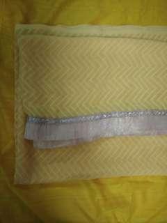 Baju kurung material sari cloth for sale