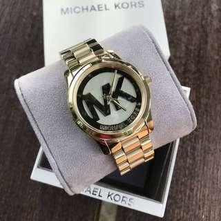 MK LOGO AUTHENTIC WATCH