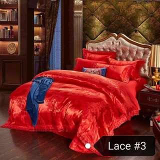 🚚 Wedding Bedsheet/ 4 pieces set / free delivery