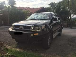 HILUX FOR RENTAL