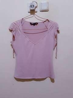 Dustypink guess blouse