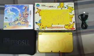 Pikachu limited edition new nintendo 3ds xL