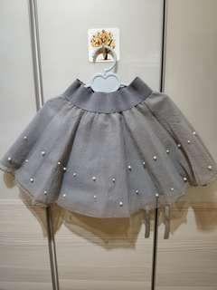 🚚 正韓--珠珠紗裙