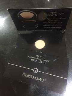 Giorgio Armani make up compact 2pcs