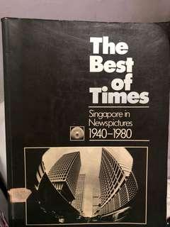 Vintage book of Singapore from 70-80s