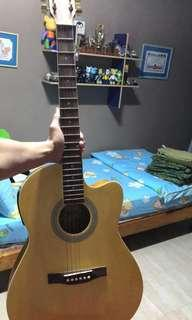 Well Taken Care of Prillante Electric Acoustics Guitar