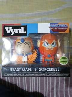 Funko Vynl MOTU Sorceress and Beast man