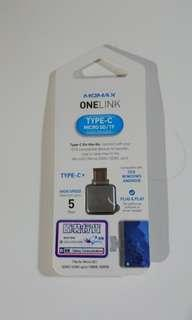 OTG adapter only/mirco SD to USB/no memory