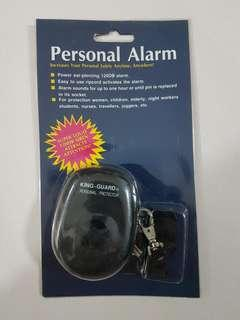 Personal alarm for safety