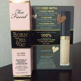 BNIB Too Faced Born This Way Concealer