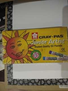 Sakura Cray-pad Oil Pastels (16-piece set)
