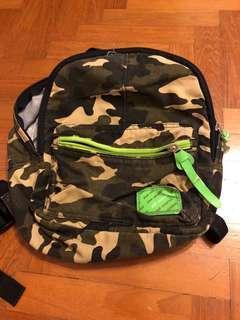 Kid Camo Backpack Bag