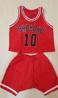 #Blessing shohoku 2 pc set
