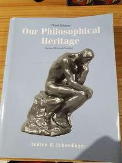 OUR PHILOSOPHICAL HERITAGE