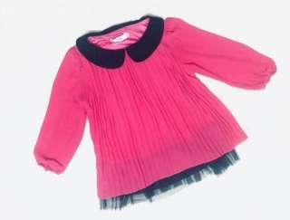 Preloved Pink Blouse