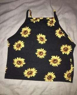 Sunflower top 🌻