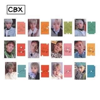 PO exo cbx blooming days photocard replicas