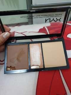Nyx cream highlight contoyr palette