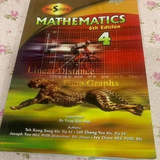 Mathematics 4 Sixth Edition MURAH