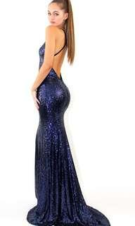 Studiominc Midnight Goddess formal dress - FOR HIRE