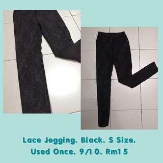 Lace jegging