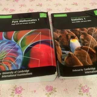3 Buku 250 rb!! Pure Mathematics 1, 2&3 dan Statistics 1