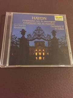 CD ( TELARC) : [ HAYDN ( Symphonies 31 & 45 ( Hornsignal & Farewell)]: As Shown