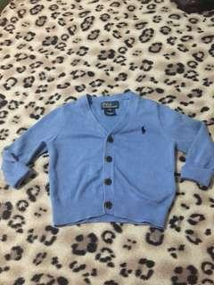 Ralph lauren cardigan for boy 12m