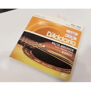 DAddario Acoustic Guitar String .010-.050