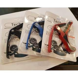 Techno Guitar Capo for Acoustic , Electric Guitar