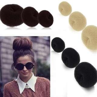 Doughnut Hair Bun Maker 🍩