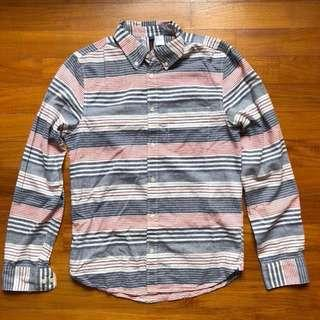Horizontal Stripes 'Casual' Shirt