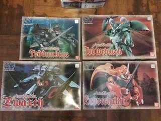 HG 聖戰士 模型 4盒