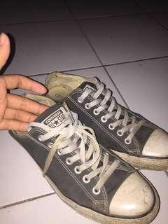 Converse Low Black size 43 Vintage