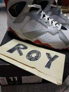 Air Jordan 7 Olympic 2012 version