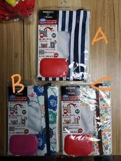 🚚 #EDISON 日本濕紙巾 2用收納包